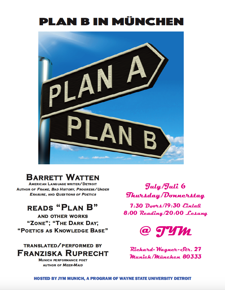 plan b munich flyer